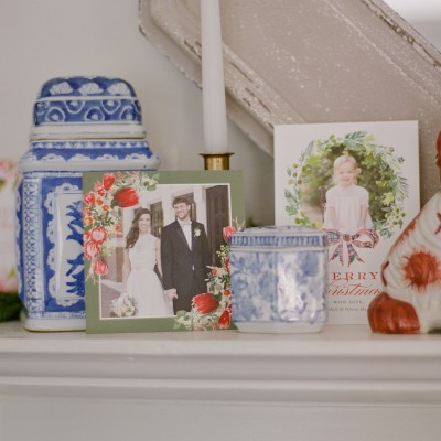 Styling Your Holiday Cards