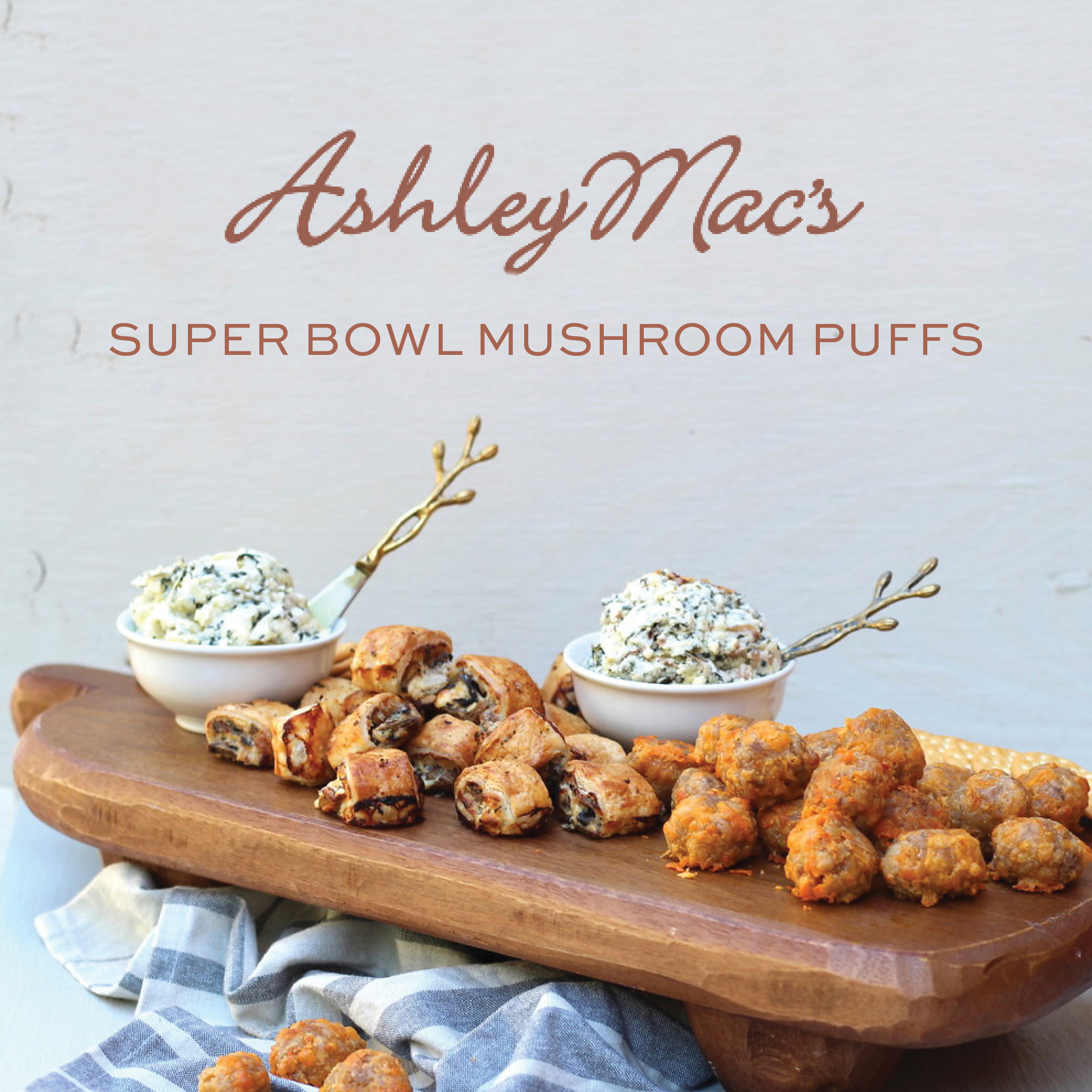 Ashley Mac's Super Bowl Party Menu