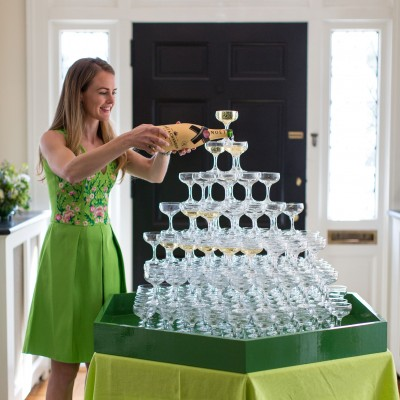 Going Green for Natasha Lawler's Seventh Annual St. Patrick's Day Party