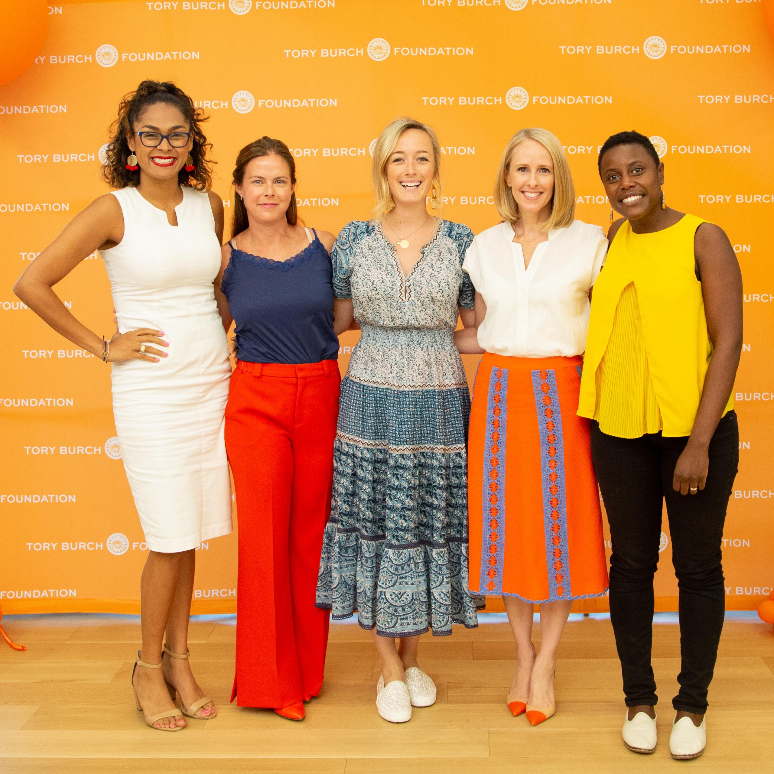Jennifer Hunt's Week with the Tory Burch Foundation