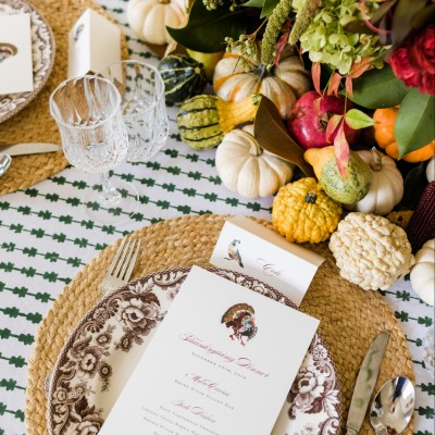 A Fall Feast Table Setting with Christina Brockman of Huckleberry Collective