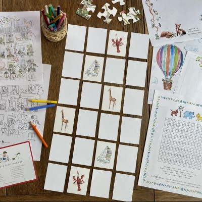 Activity Printable Day 2: Matching Game
