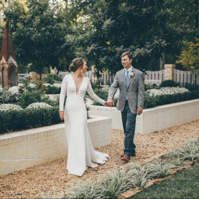 Real Weddings: Meredith Farmer Deal's Elegant Garden Wedding