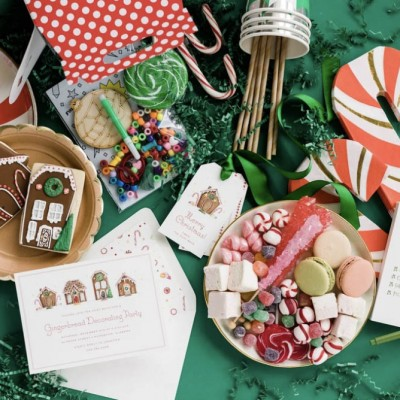 Kid's Party Prep: A Gingerbread Decorating Party