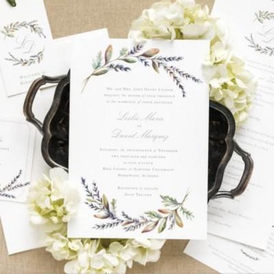 Real Weddings: Leslie Marquez's Elegant Fall Wedding