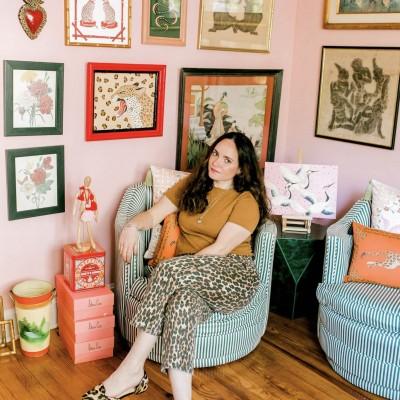 Artist Spotlight: Willa Heart's Colorful Studio Space