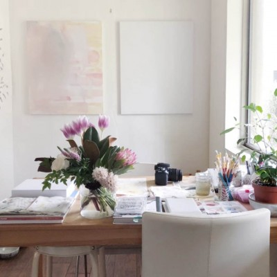 Artist Spotlight: Laurie Anne Gonzalez's Studio Space