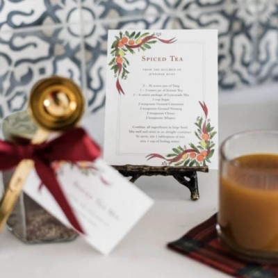 A Holiday Spiced Tea Tradition