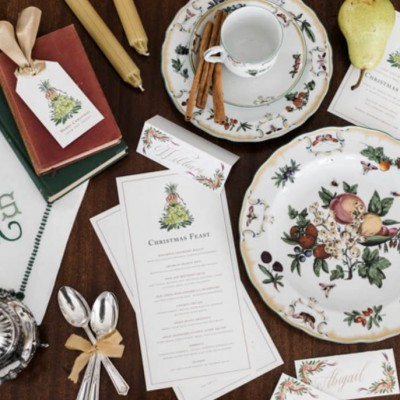 A Colonial Inspired Dinner Party