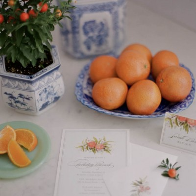 Citrus Inspired Holiday Brunch