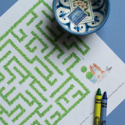 Activity Printable Day 16: Dash Maze