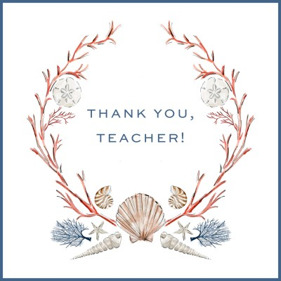 Activity Printable Day 17: Thank You, Teacher! Notes