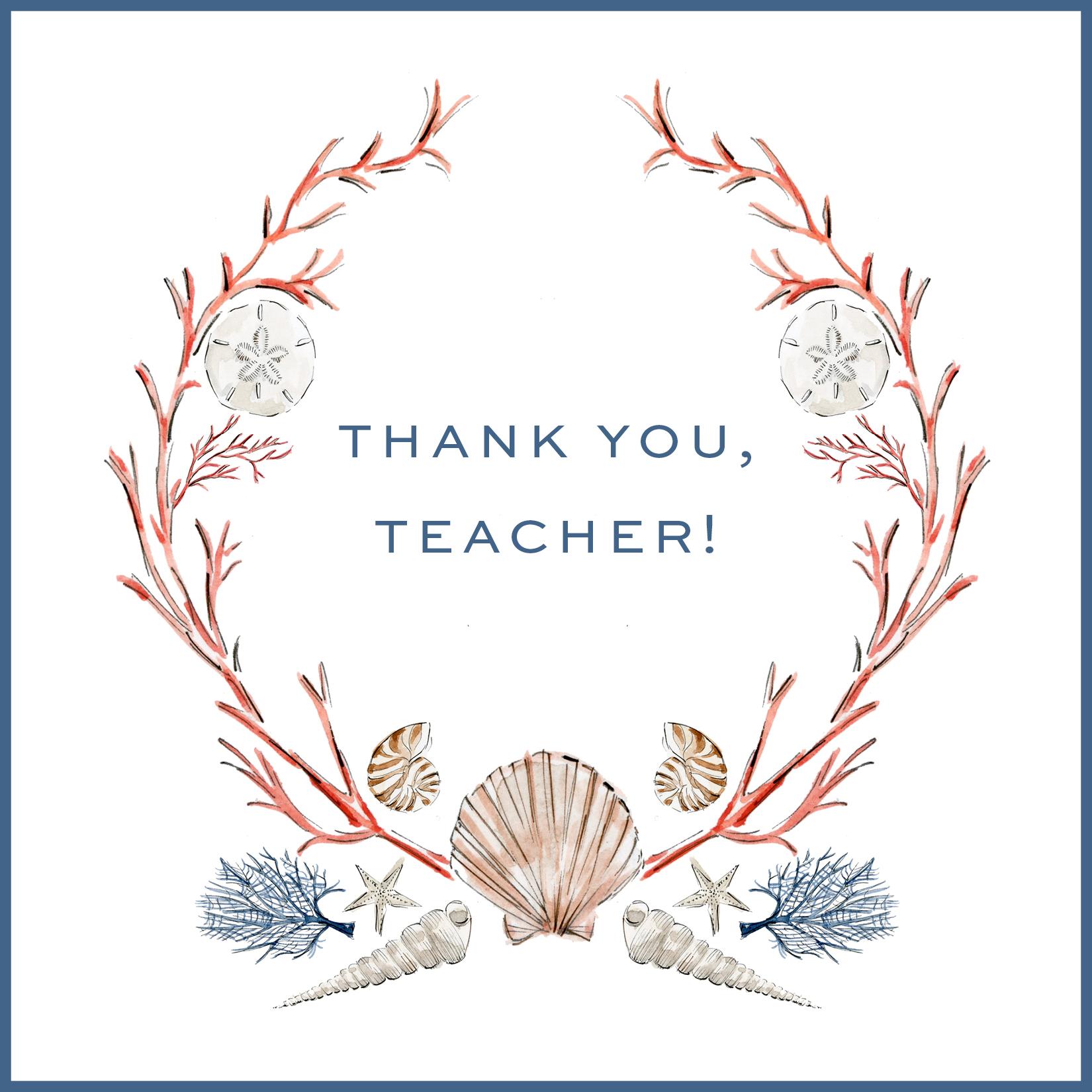 Activity Printable Day 17: Thank You, Teacher! Notes