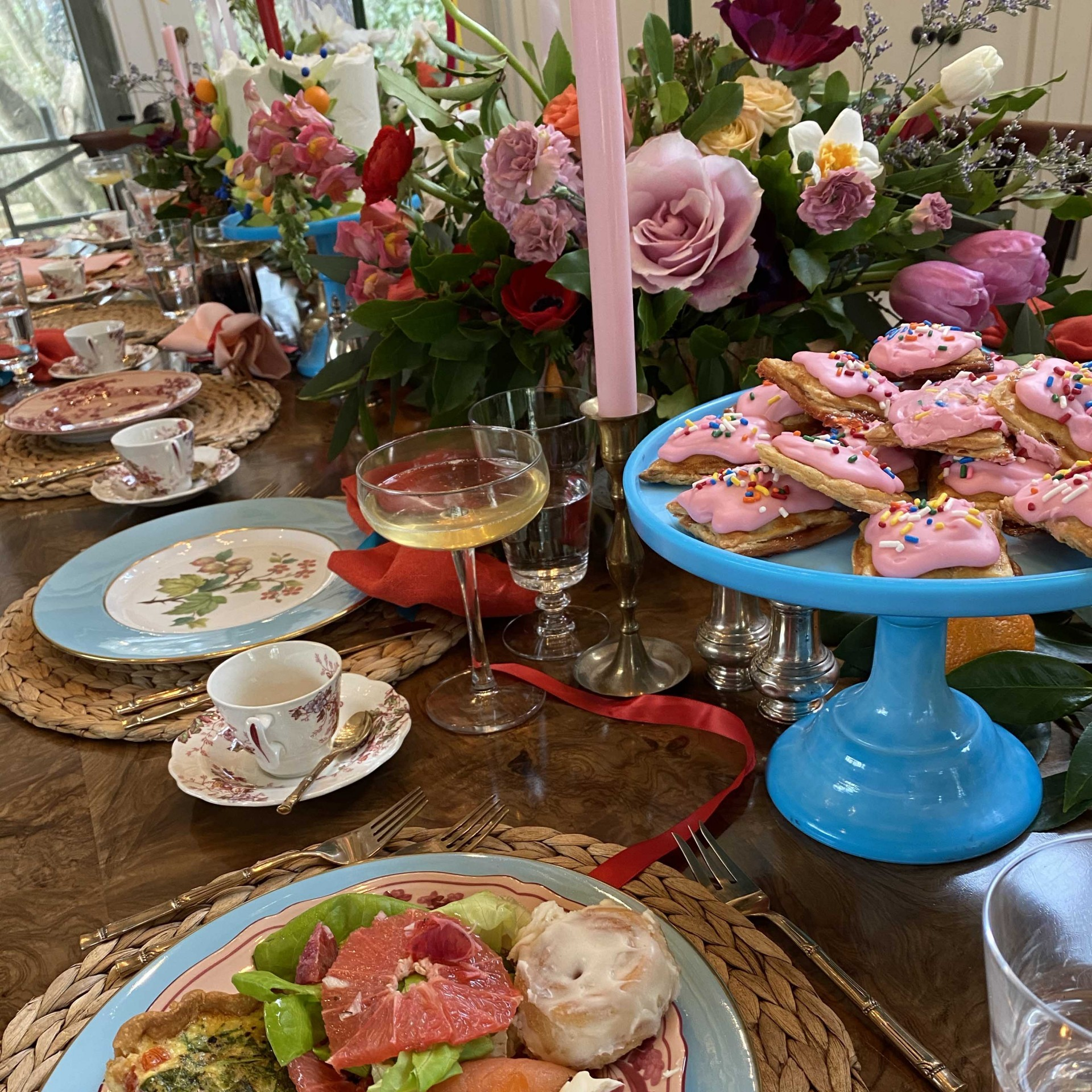 Dixie Artist Willa Heart's Colorful Baby Shower