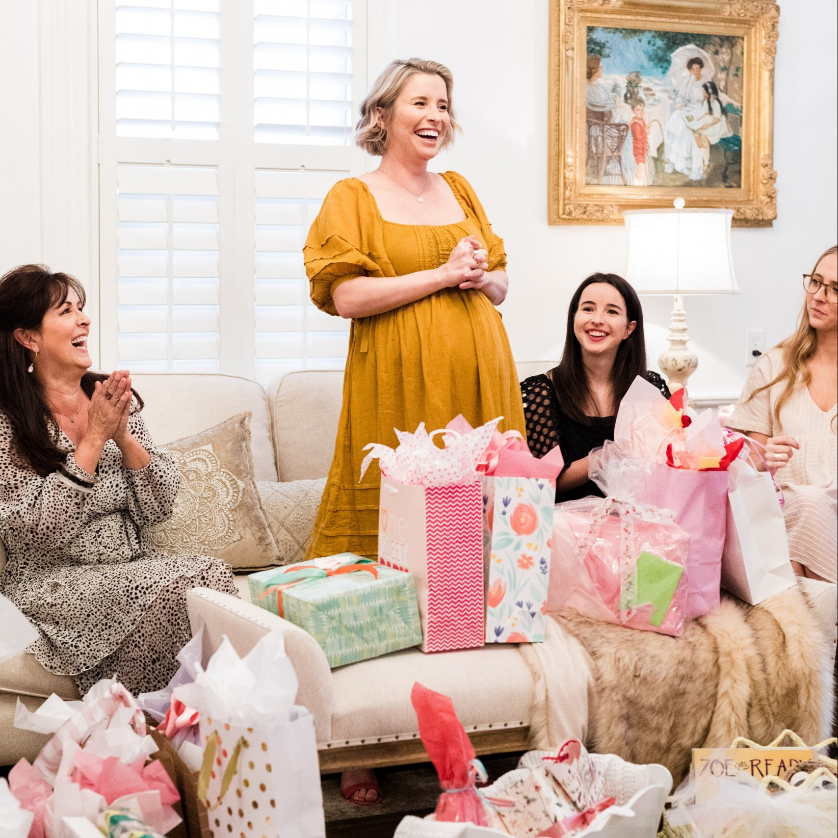 Marketing and Social Media Coordinator Casey Snipes' Dreamy Baby Shower