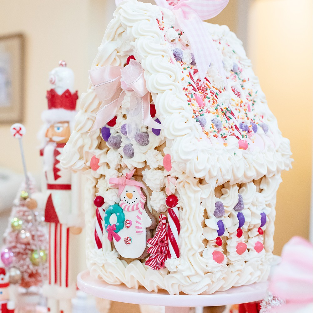 A Gingerbread House Tea Party