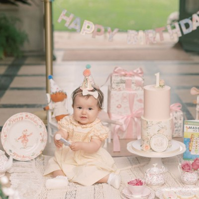 A First Birthday Tea Party for Madeleine