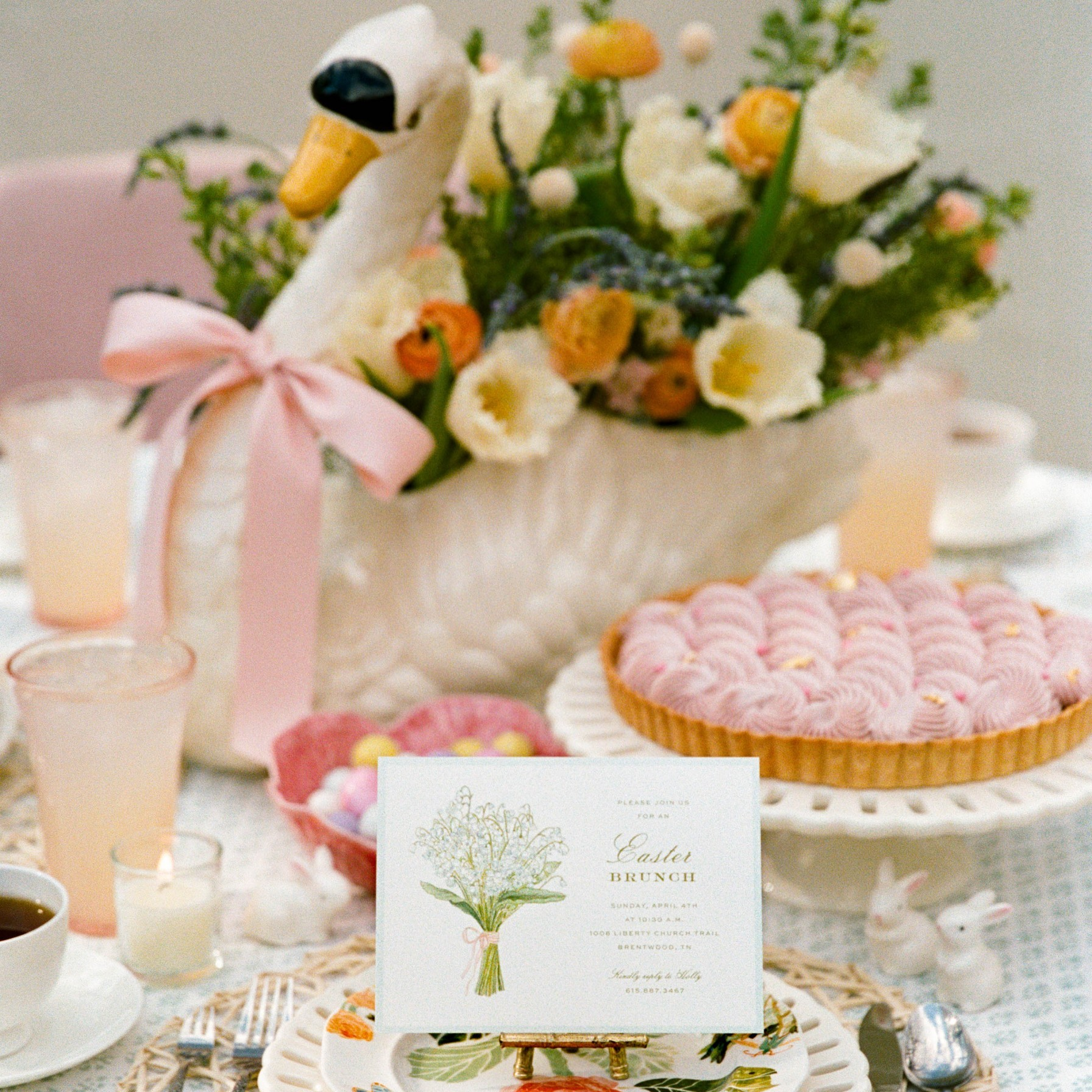 An Easter Table for Small Gatherings